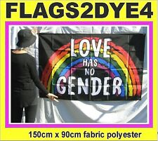 Love has no Gender flag rainbow pride flag includes AUSTRALIA POST TRACKING