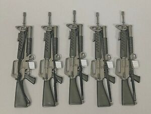 """5 21ST CENTURY TOYS M16 RIFLE / GRENADE LAUNCHER FOR 1/6TH SCALE OR 12"""" FIGURES"""