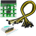 Breakout Board Server Adapter Power Supply with 6* Cables For HP PSU GPU 1600W