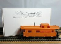 "TYCO 327-H HO Scale 8 Wheel Streamline Caboose ""UNION PACIFIC 654"" with HH's"
