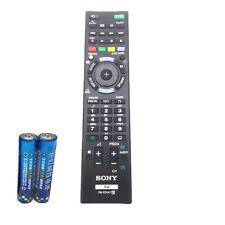 SONY Bravia TV Remote Control RM-ED047 KDL-46HX751 KDL-55HX751 with battery