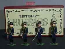 Britains 49011 British 7A HUSSARS METAL Toy Soldier Figure Set