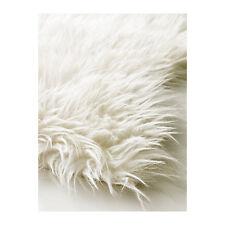 ikea faux white sheepskin rug new super warm soft u0026 cozy