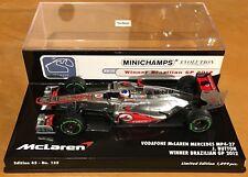 Minichamps 1/43 Vodaphone McLaren Mercedes MP4-27 #3 Button - 2012 Winner Brazil