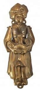 ANTIQUE ALADDIN HOMES GENIE DOORKNOCKER DOOR KNOCKER