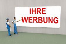 300 cm x 50 cm  Werbeschild Firmenschild Ladenschild Außenwerbung Werbeträger