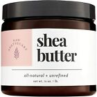 Raw Apothecary All-Natural Ivory Shea Butter 16 ounces 16 Ounce