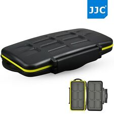JJC MC-SD12 Tough Water-Resistant Holder Storage Memory Card Case for 12 SD Card