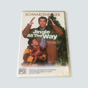 Jingle All The Way DVD - GC/R4/AUS/Tested/XMAS/Family/Christmas/Free Postage 🐙