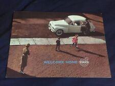1960 1961 Volvo PV 544 Color Brochure Catalog Prospekt