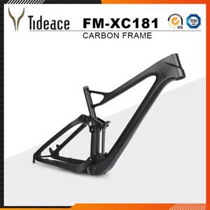 Twinloc Full Suspension Frame12*148 Boost 27.5er plus Carbon Mountain Bike Frame