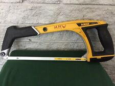 DEWALT DWHT20547 5 in 1 Multifunction Hacksaw Hand Saw Rubber Grips