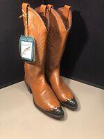 NEW Vintage Women's Dan Post Lizard Skin Boots 258065 Size 6 1/2