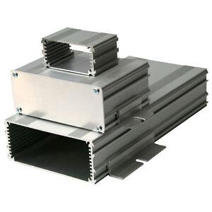 Silver Extruded Aluminium Enclosure Fr PCB 100x160mm 160x109x45 Case Box Project