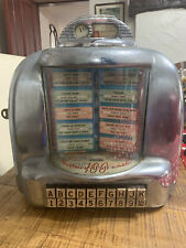 More details for 3w1 seeburg 100 wall o matic jukebox wall box selector unit vintage