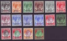Straits Settlements Malaya BMA 1945 SC 256-271 MH Set