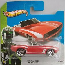 Hotwheels (2013) '69 CAMARO CONVERTIBLE - HW SHOWROOM  - #197/250 - 1/64 - MOC