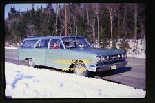 1967 Massachusetts, Rambler Station Wagon Car, Original 35mm Slide a11b