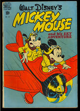 Four Color #214 (Mickey Mouse) Nice Walt Disney Golden Age Dell Comic 1949 VG-