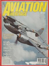 Aviation History (May 1992) (Seaplane Racers, WASP, Barling Bomber, White Bird)