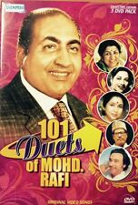 101 Duets Of Mohd. Rafi - 101 Bollywood Songs DVD, 101 Songs In 3 DVD Set
