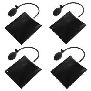 4Pack Air Wedge Pump Up Bag Inflatable Shim Door Window Positioner Airbag Tool