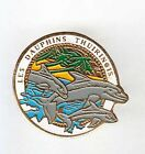 RARE PINS PIN'S .. ANIMAL DAUPHIN DOLPHIN NATATION SWIMMING THUIR 66 ~AK