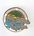 RARE PINS PIN'S .. ANIMAL DAUPHIN DOLPHIN NATATION SWIMMING THUIR 66 ~AK