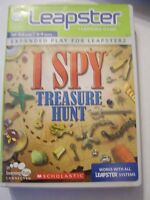 LEAPFROG GAME NEW - I SPY TREASURE HUNT AGES 6-9 EXPANDED PLAY FOR LEAPSTER 2