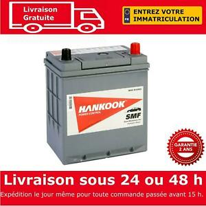 Hankook 53504 Batterie de Démarrage Pour Voiture 12V 35Ah - 187 x 136 x 220mm