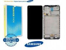 Samsung Galaxy A21s Display LCD Schwarz Original + Touch Screen