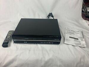 Toshiba Recorder DVD /VCR Combo w/ Remote Manual D-VR600KU VHS DVD HDMI, Tested