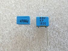 5 condensateurs 4700pF 63V 5% ERO KP1830