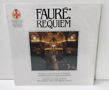 Faure Requiem Montreal Civic Youth Orchestra & St Matthias Male Choir New Sealed