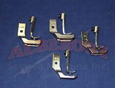NAKAJIMA 280L Single Needle WELT FOOT SET 4 sizes 3/16 1/4 5/16 3/8