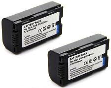 2x 7.2v Battery for Panasonic NV-MX7 NV-MX8 NV-MX300 NV-MX340 NV-MX350 NV-MX500