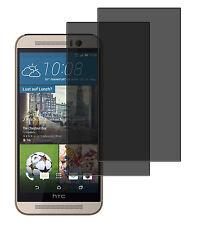 2 x Blickschutzfolie HTC One M9 Plus Privacy Displayschutzfolie Antispy schwarz