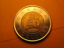 Canada 2011 Boreal Forests Commemorative $2 Coin.