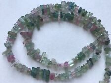 100ct Gem Quality crystalized Afghan multicolour Tourmaline Beads
