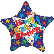 "18"" FOIL BALLOON ""HAPPY BIRTHDAY BROTHER"""