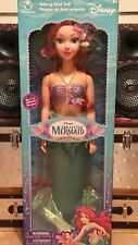 ARIEL/LITTLE MERMAID LIFE SIZE TALKING DOLL, NIB, 39 INCH, RARE/LIMITED EDITION