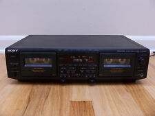 Sony Cassette Deck TC-WE805S with Dolby S + Auto Bias Calibration