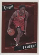 2017-18 Panini Prestige Micro Etch Rookies Red OG Anunoby #23 Rookie