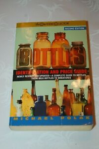 BOTTLES Identification and Price Guide - Michael Polak 498 pgs.
