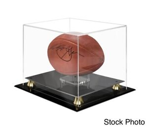 Ultra Pro Deluxe Acrylic Full Size Football Riser Display Case Brand New
