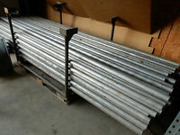 10x 3m Alurohr Alu Rohr Gerüstrohr 48,25mm x 4mm