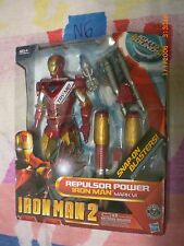 N6_5 Hasbro Marvel Legends Lot REPULSOR POWER IRON MAN 2 MARK VI 10-inch Figure