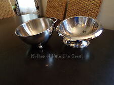 Tupperware Chef Series® Stainless Steel Bowl set for Mixing and Serving /RARE!
