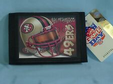 SAN FRANCISCO 49ERS Sublimation Logo TriFold Wallet  NWT