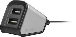 Incipio Dual Desktop USB 2.4A High Speed Desktop Charging Station NEW